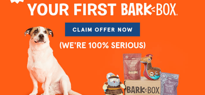 Barkbox Flash Sale: Get Your First BarkBox 50% Off Coupon – LAST DAY!