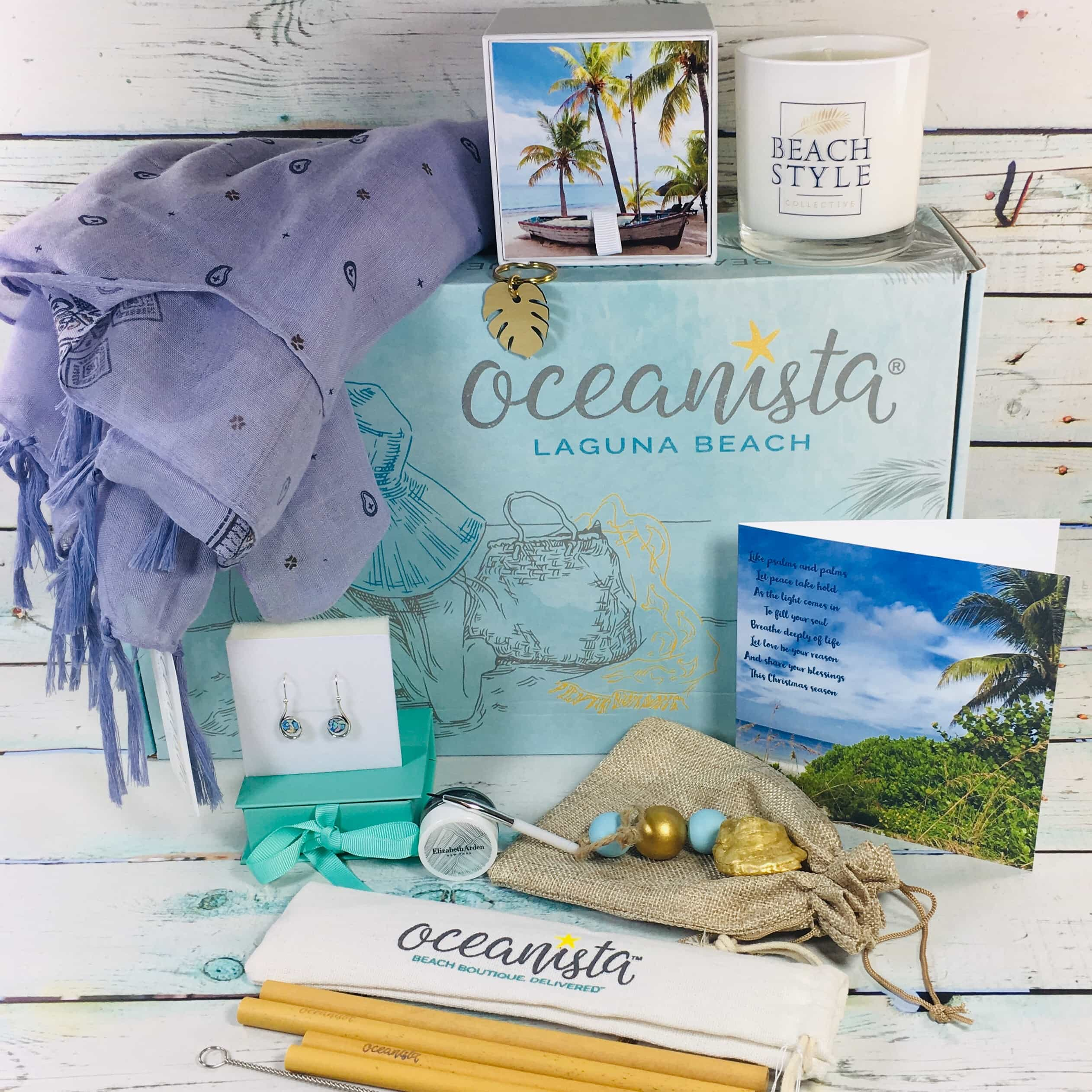 Oceanista Winter 2018 Subscription Box Review + Coupon