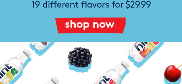 Hint Water New Year Sale: Get 19 Flavors For Just $29.99 + FREE Shipping!