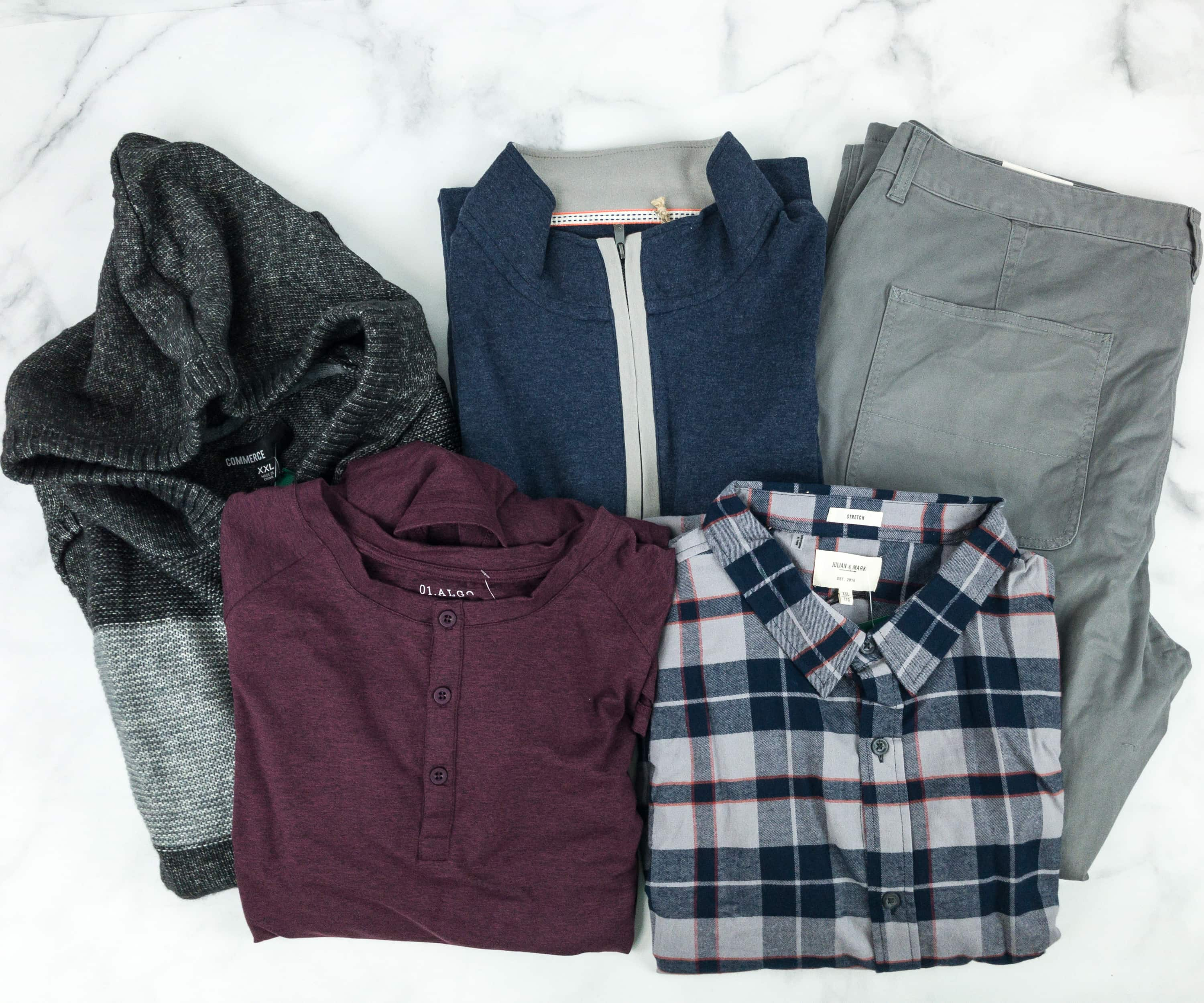Stitch Fix Men December 2018 Review