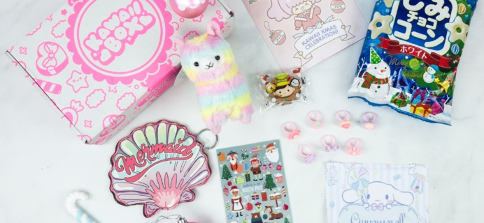 Kawaii Box December 2018 Subscription Box Review