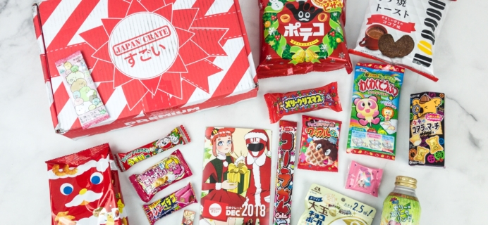 Japan Crate December 2018 Subscription Box Review + Coupon