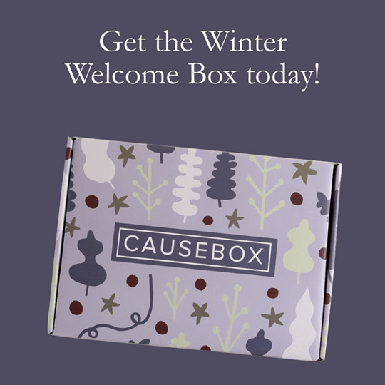 CAUSEBOX Winter 2019 Welcome Box Available Now + Full Spoilers + Coupon!
