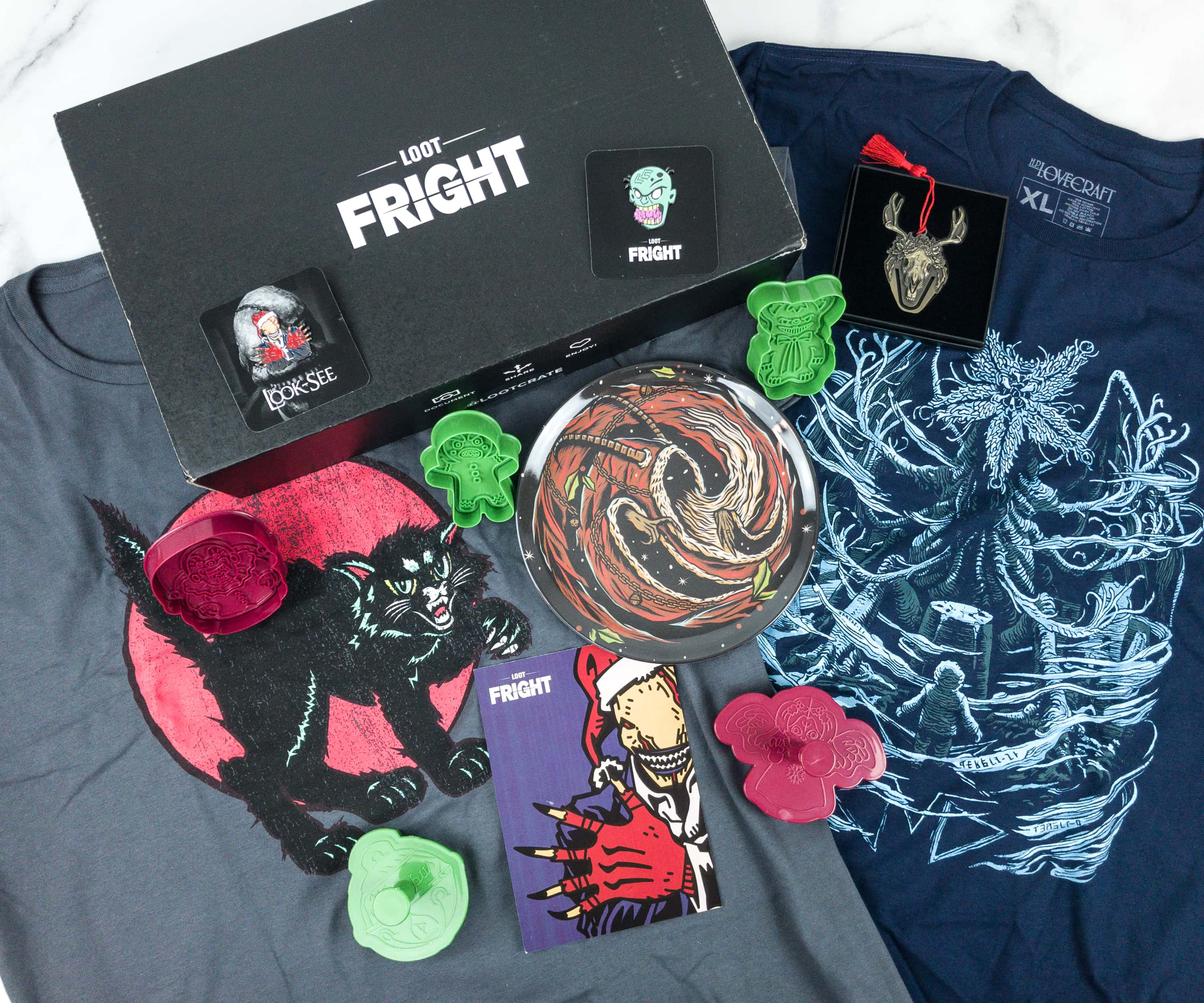 Loot Fright November 2018 Subscription Box Review + Coupon