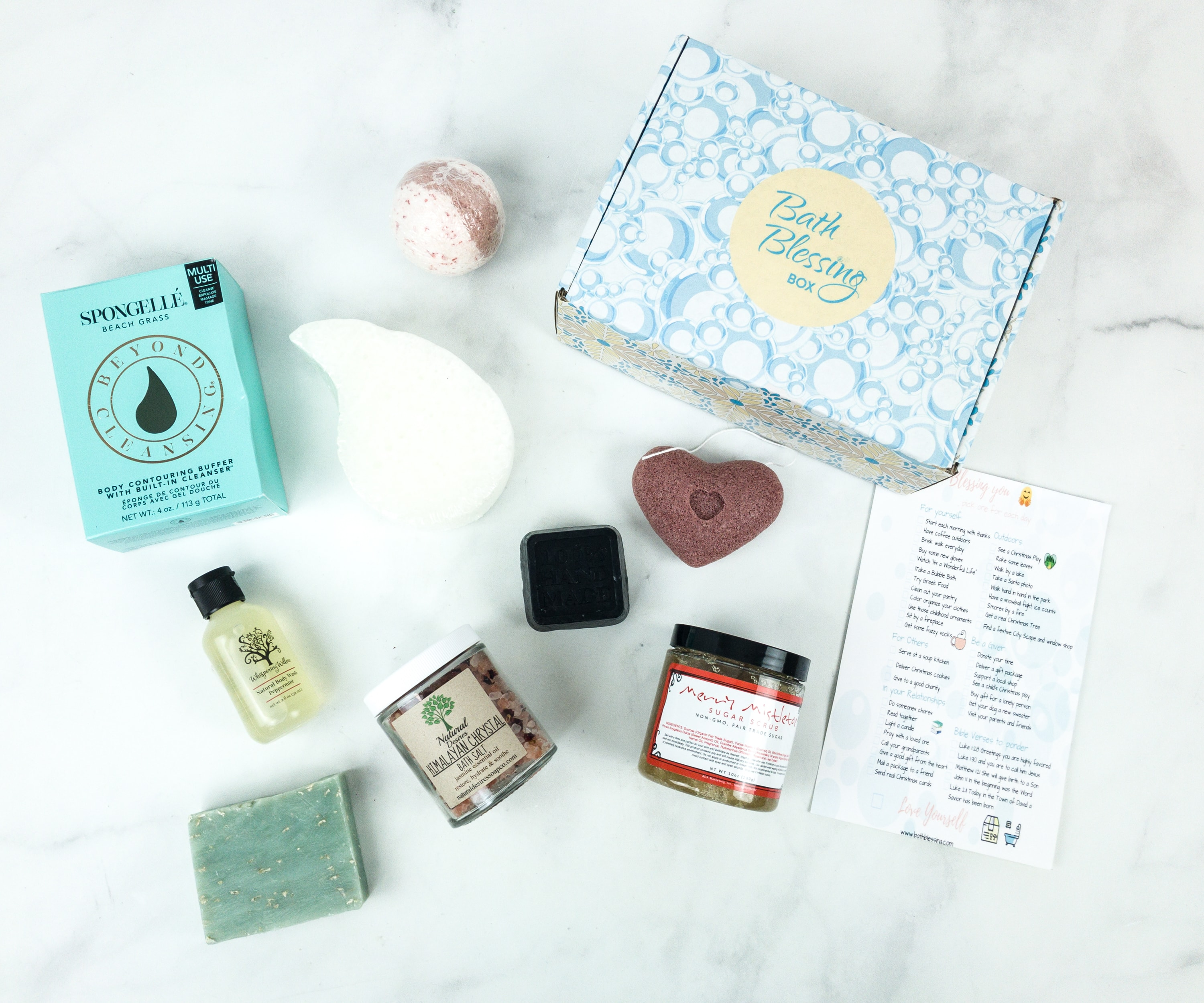 Bath Blessing Box December 2018 Subscription Box Review + Coupon