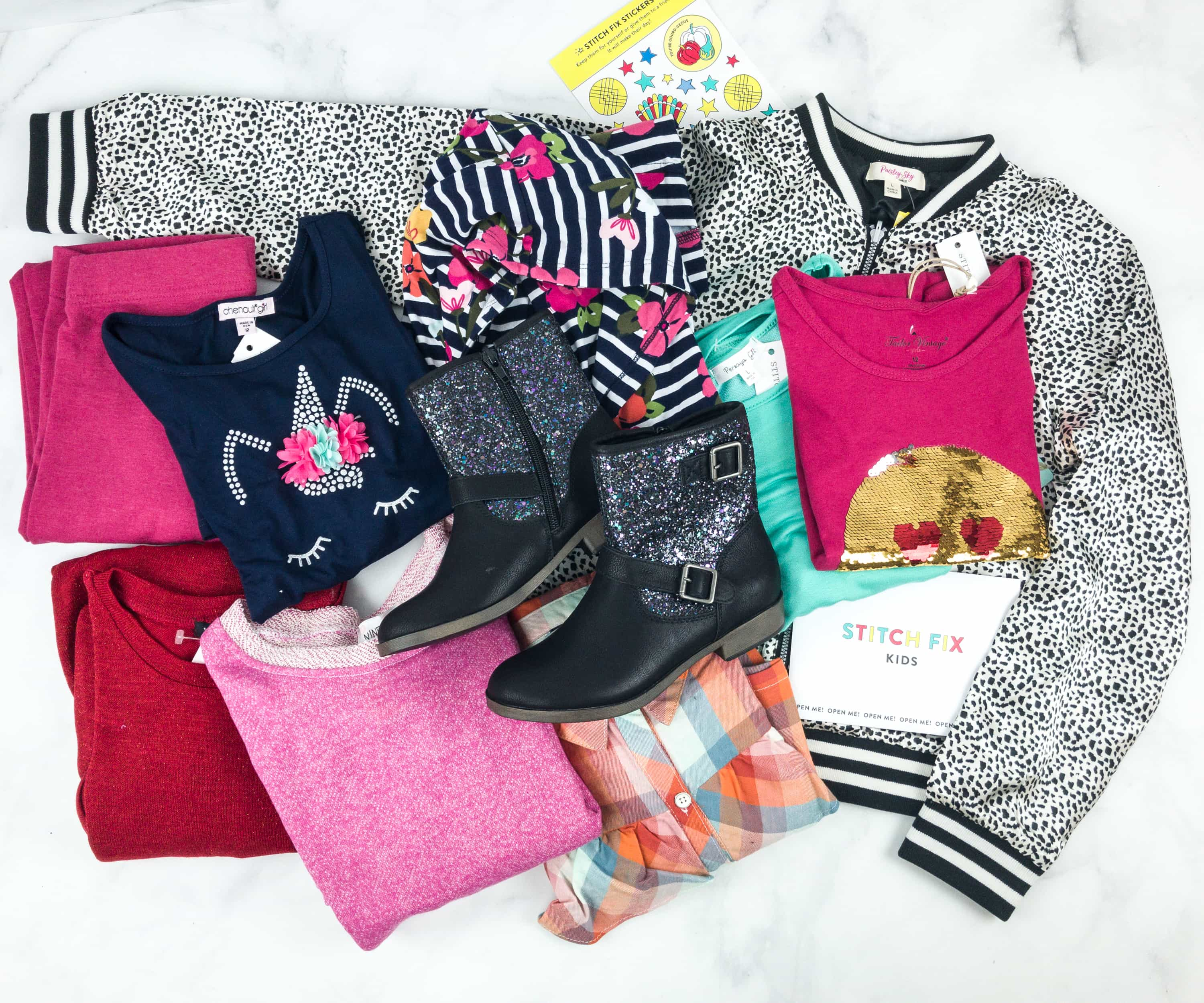 Stitch Fix Kids December 2018 Girls Review