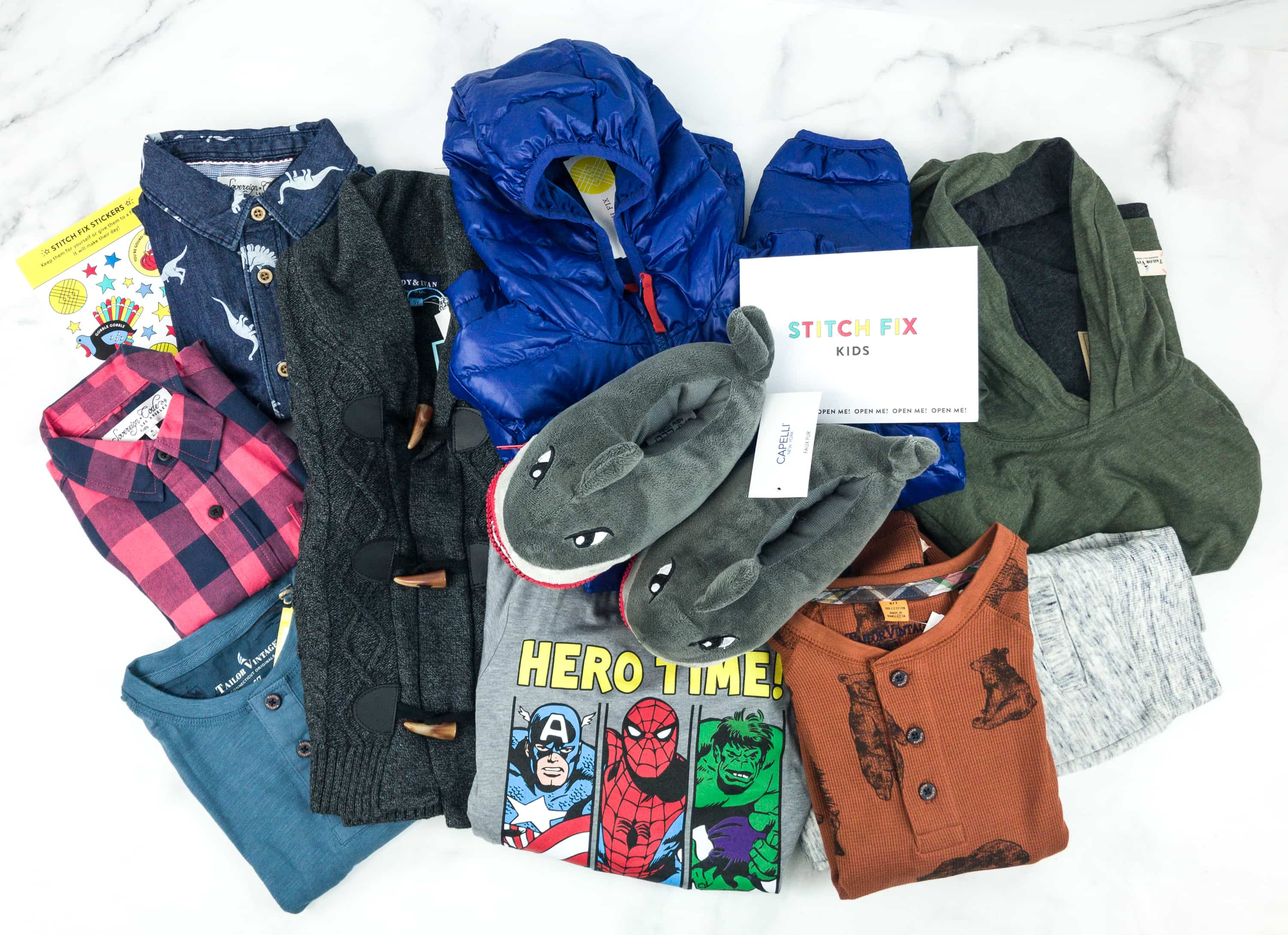 Stitch Fix Kids Review – Little Boys December 2018