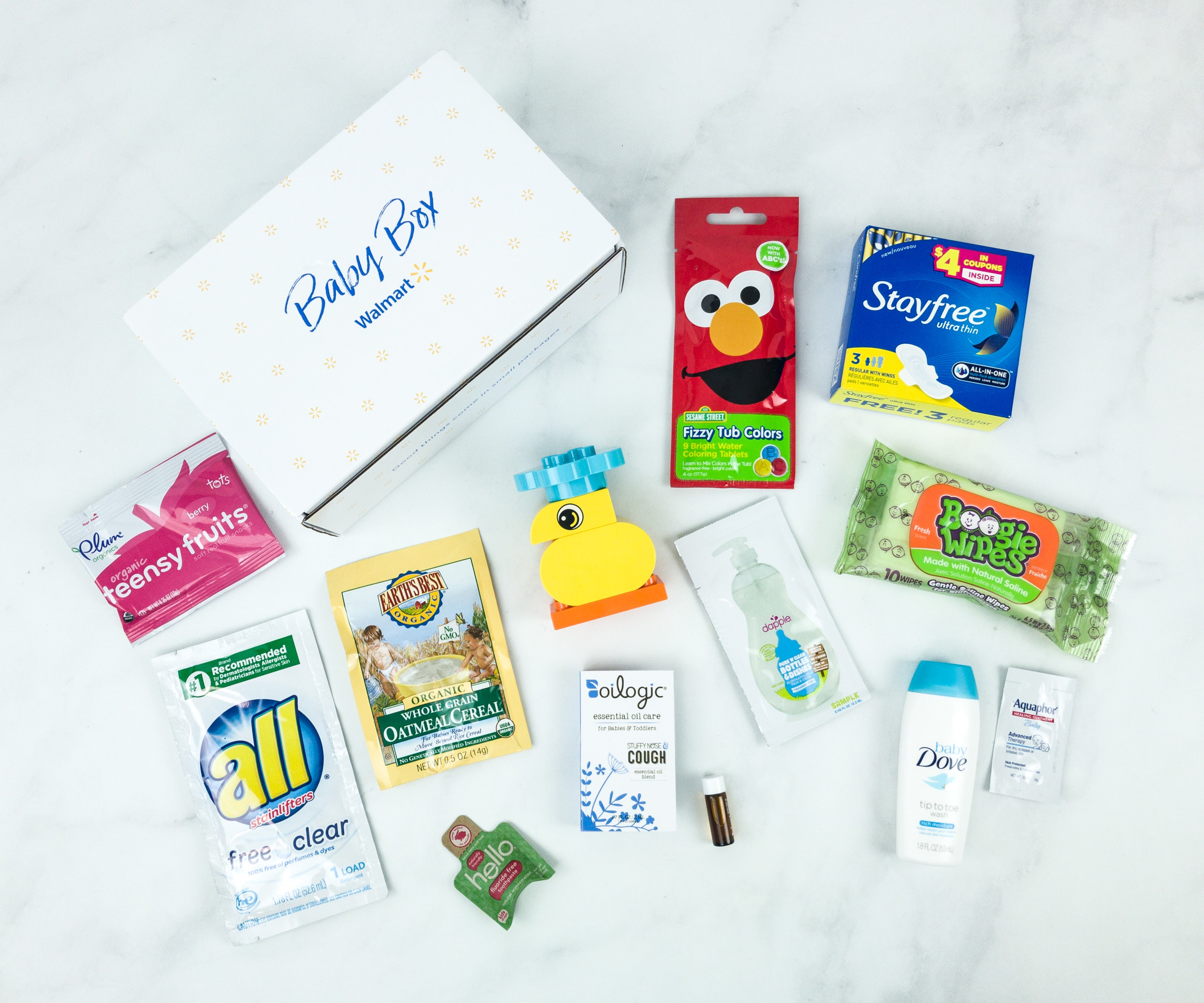 Walmart Baby Box Winter 2018 Subscription Box Review – TODDLER
