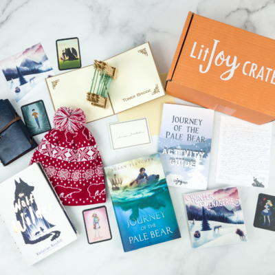 LitJoy Crate Winter 2018 Middle Grade Crate Subscription Box Review & Coupon