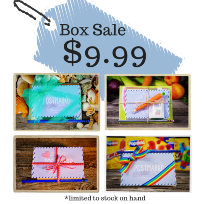 PostBox by Postmark'd Studio Shop Sale: Get Past Boxes For Only $9.99 Each!