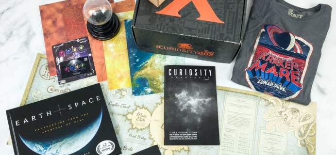 The Curiosity Box by VSauce Subscription Box Review – Winter 2018