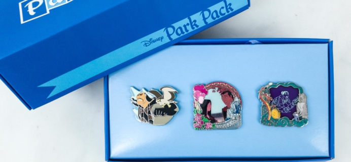 Disney Park Pack Pin Edition 3.0 December 2018 Subscription Box Review