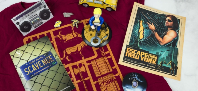 Loot Crate December 2018 Review + Coupons – SCAVENGE