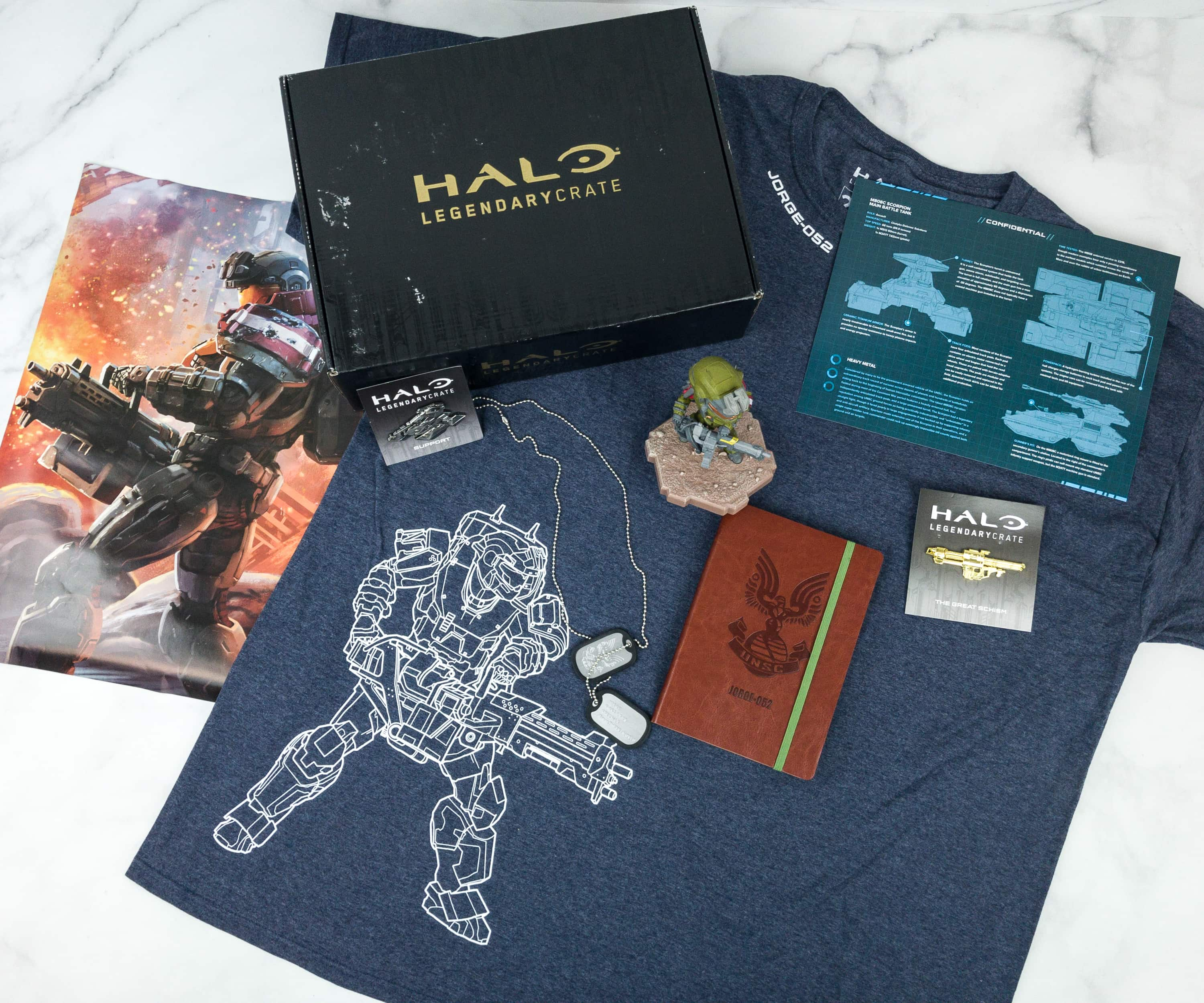 Halo Legendary Crate December 2018 Subscription Box Review + Coupon