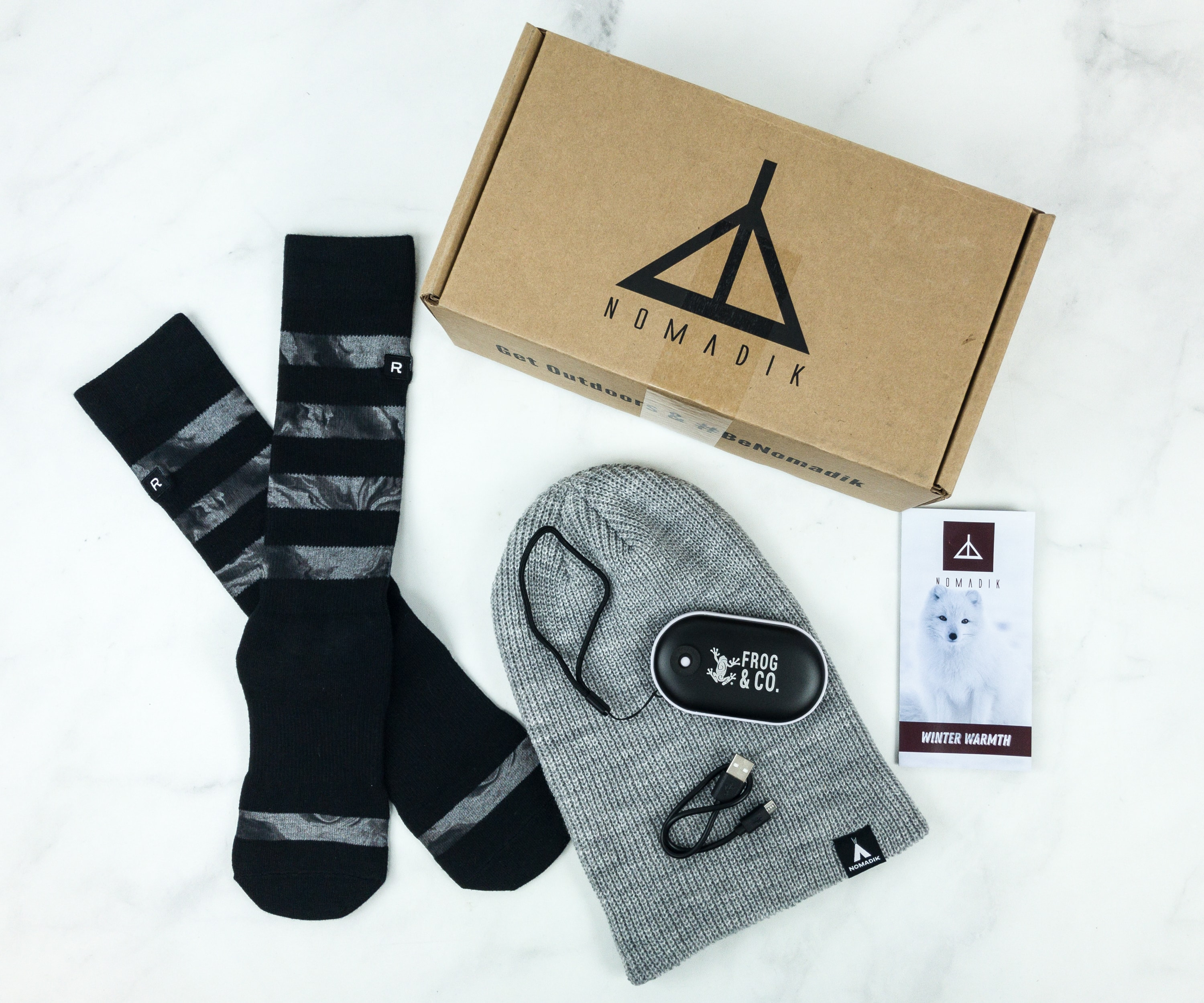 Nomadik December 2018 Subscription Box Review + Coupon