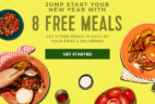 Hello Fresh New Year Sale: Get Up to $80 Off Your First Four Boxes!