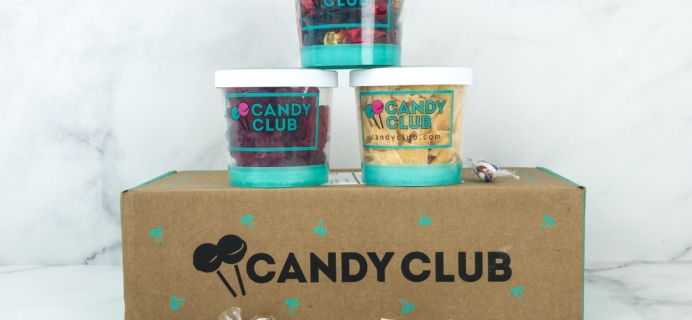 Candy Club Subscription Box Review + Coupon – December 2018