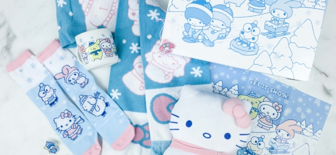 Sanrio Hello Kitty and Friends Crate Winter 2018 Subscription Box Review + Coupon!