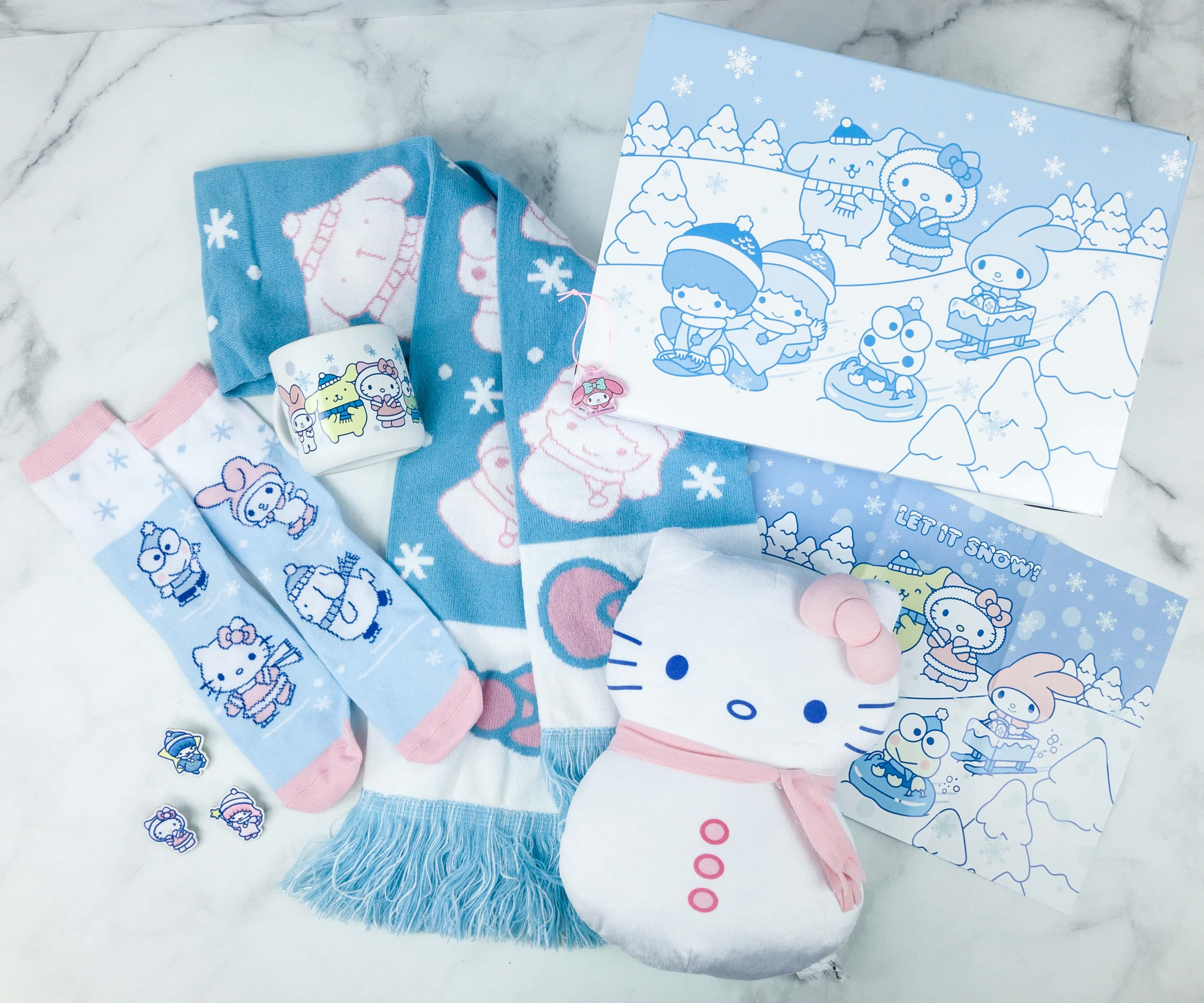 Sanrio Small Gift Crate Winter 2018 Subscription Box Review + Coupon!