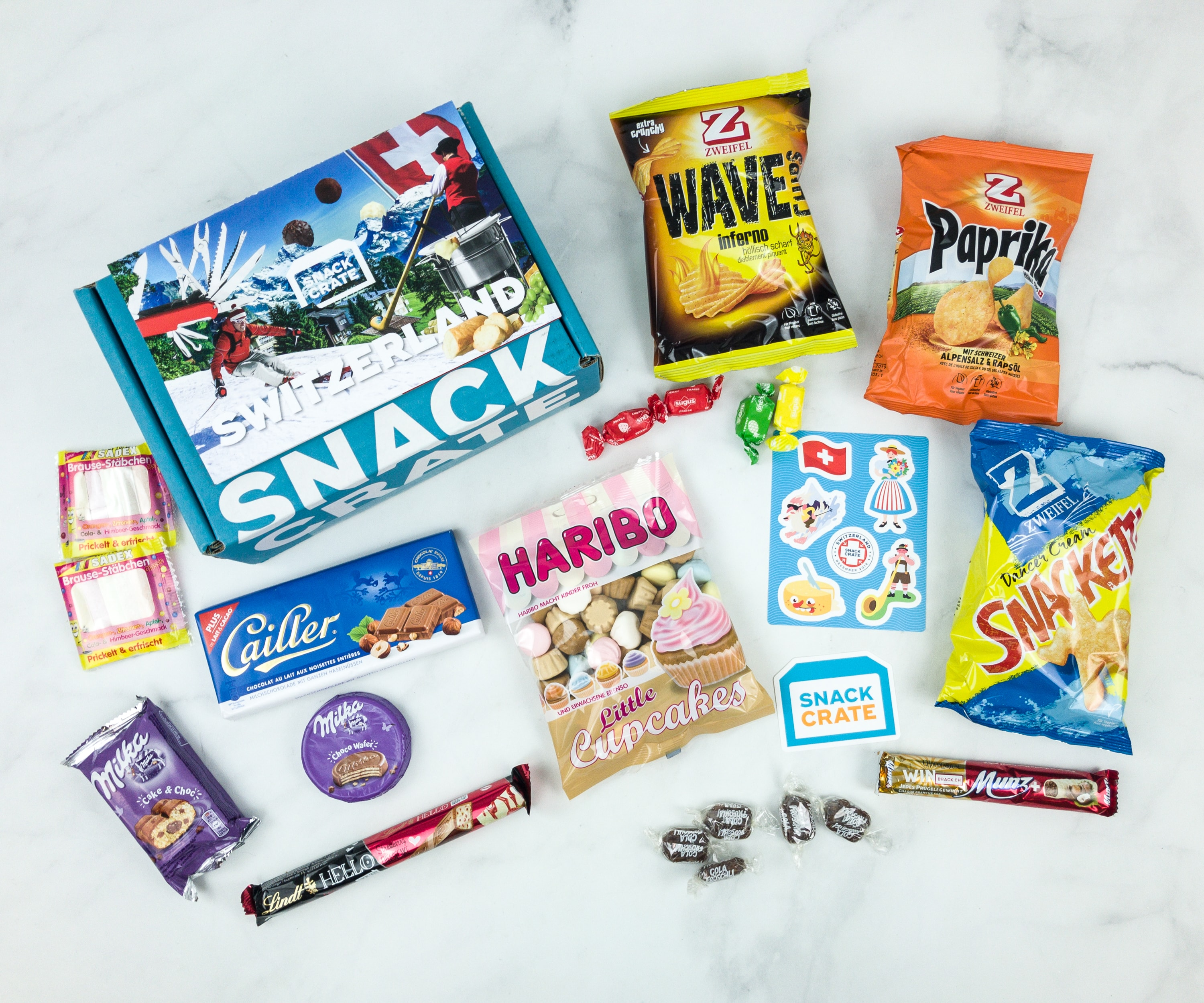 Snack Crate December 2018 Subscription Box Review & $10 Coupon