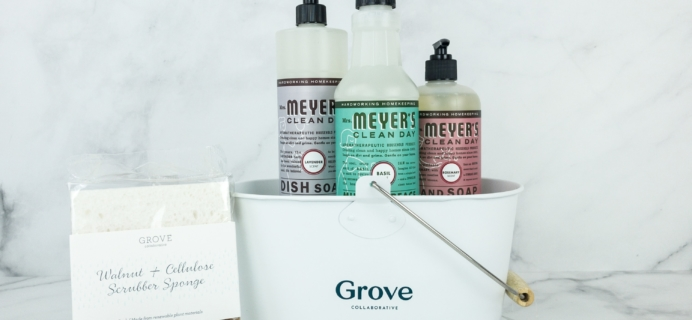 Grove Collaborative January 2019 Free Gift Set Review & Coupon