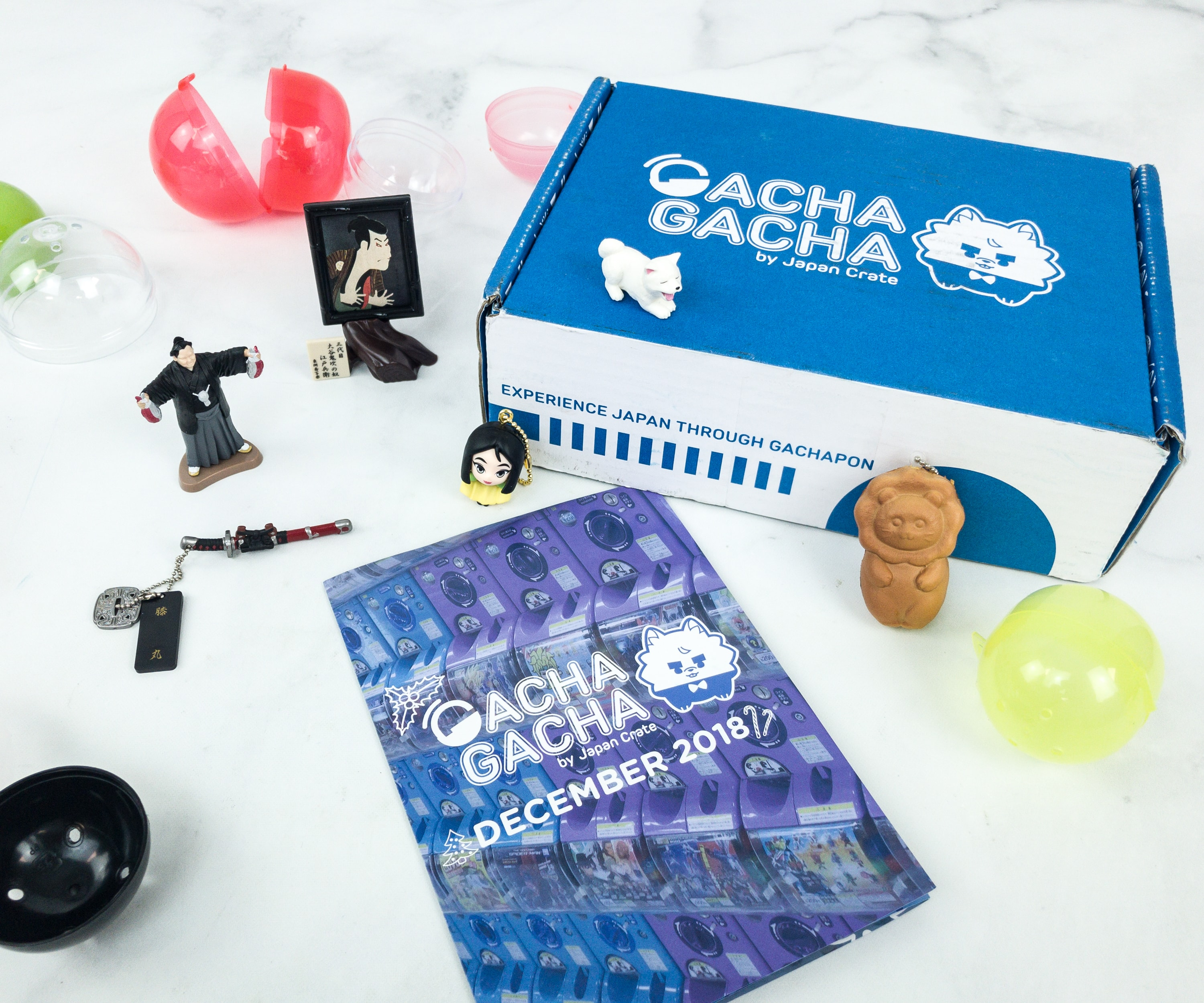 Gacha Gacha Crate December 2018 Subscription Box Review + Coupon