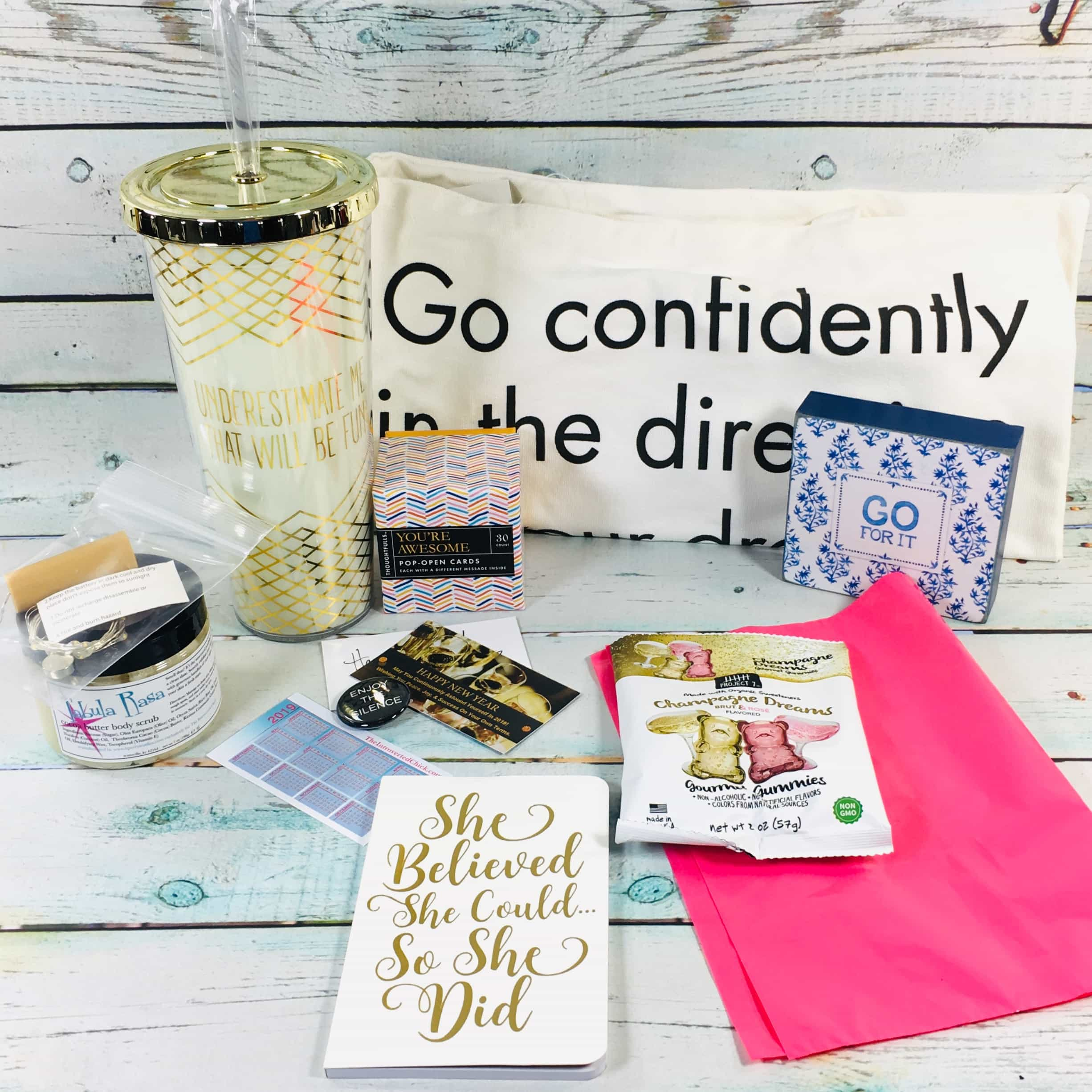 The Introverted Chick January 2019 Subscription Box Review + Coupon