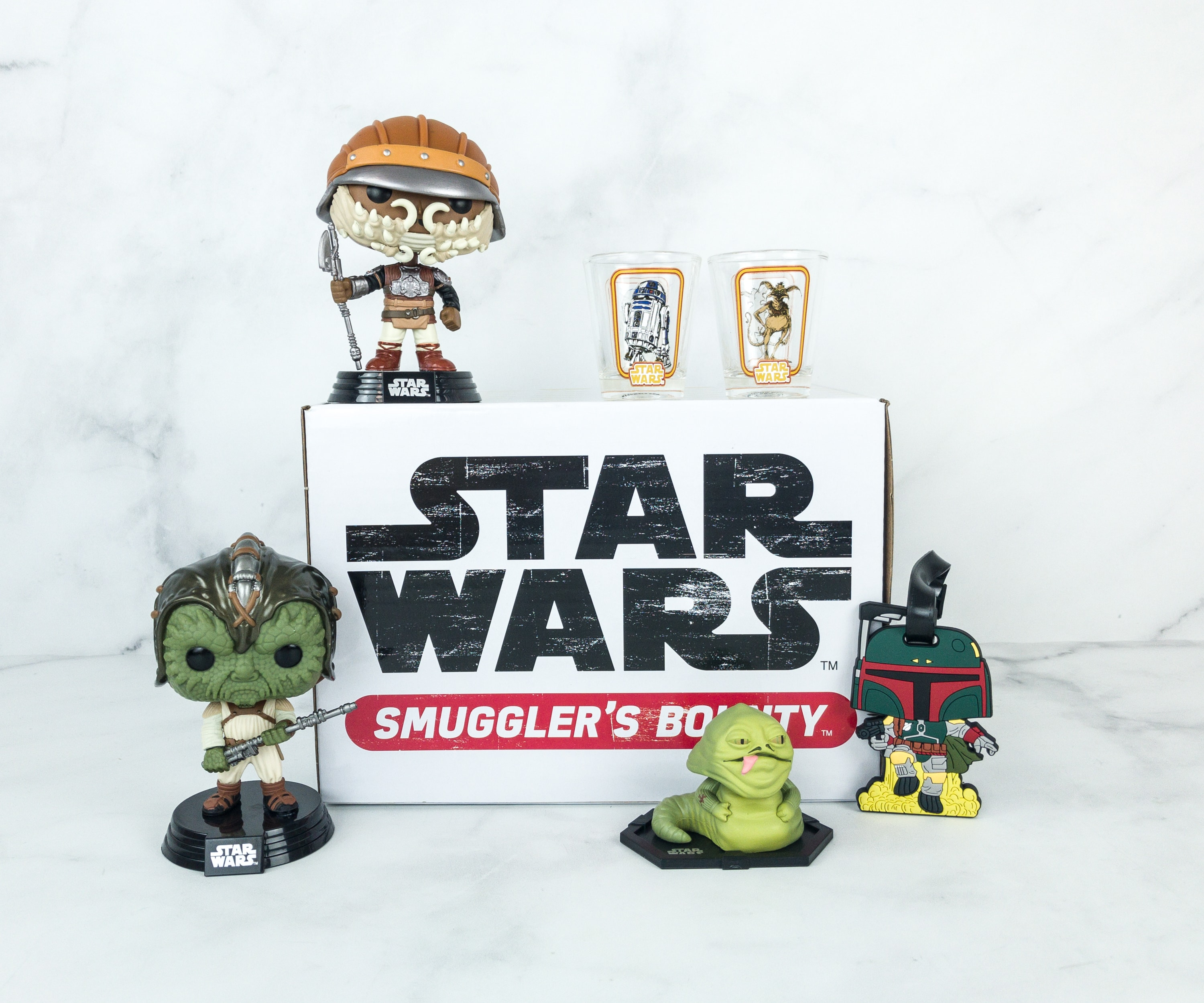 Smuggler's Bounty December 2018 Subscription Box Review – JABBA'S SKIFF Box!