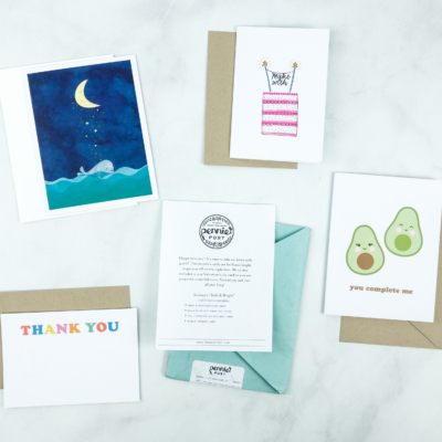 Pennie Post Stationery January 2019 Subscription Review