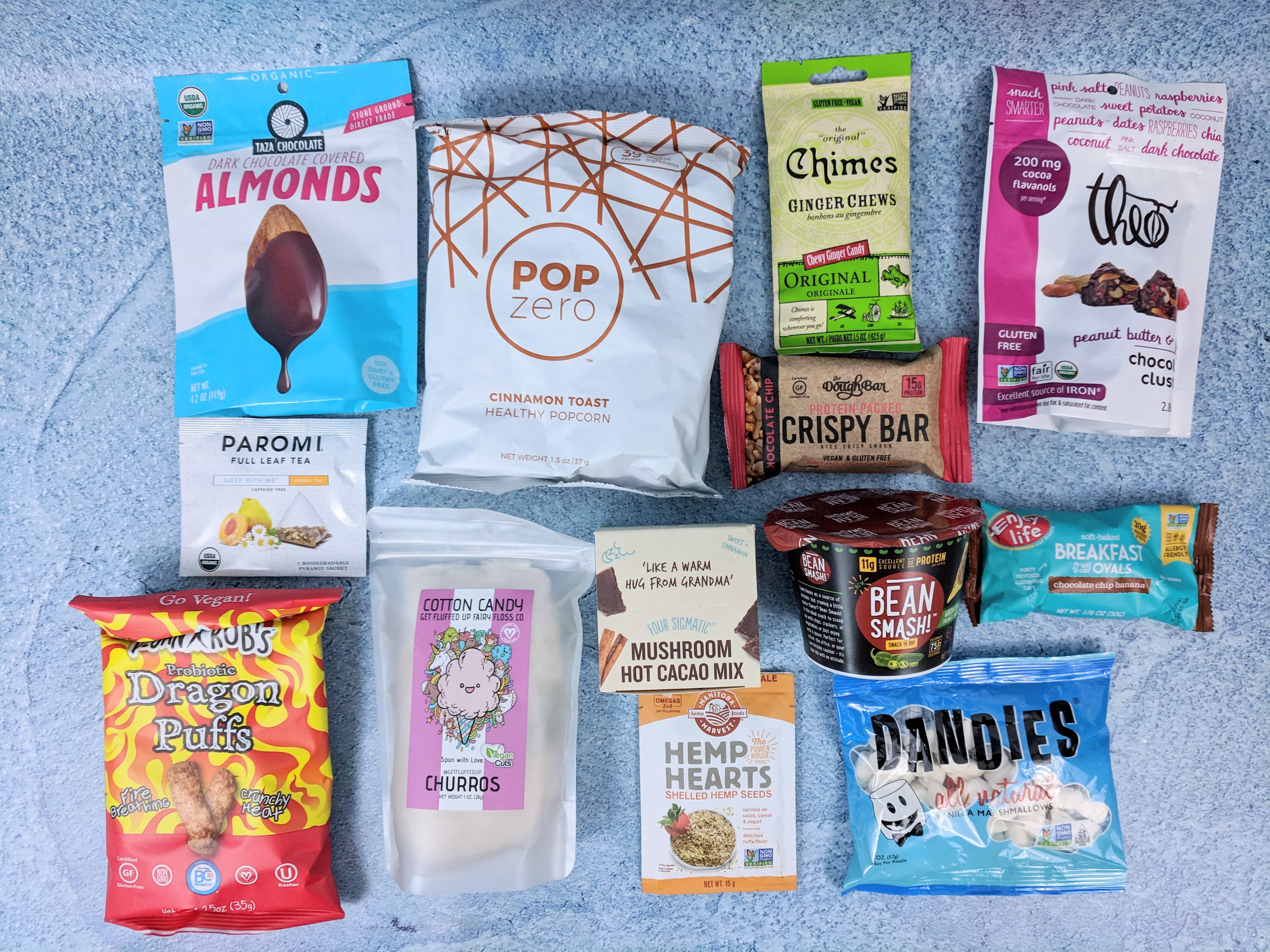 Vegan Cuts Snack Box December 2018 Subscription Box Review