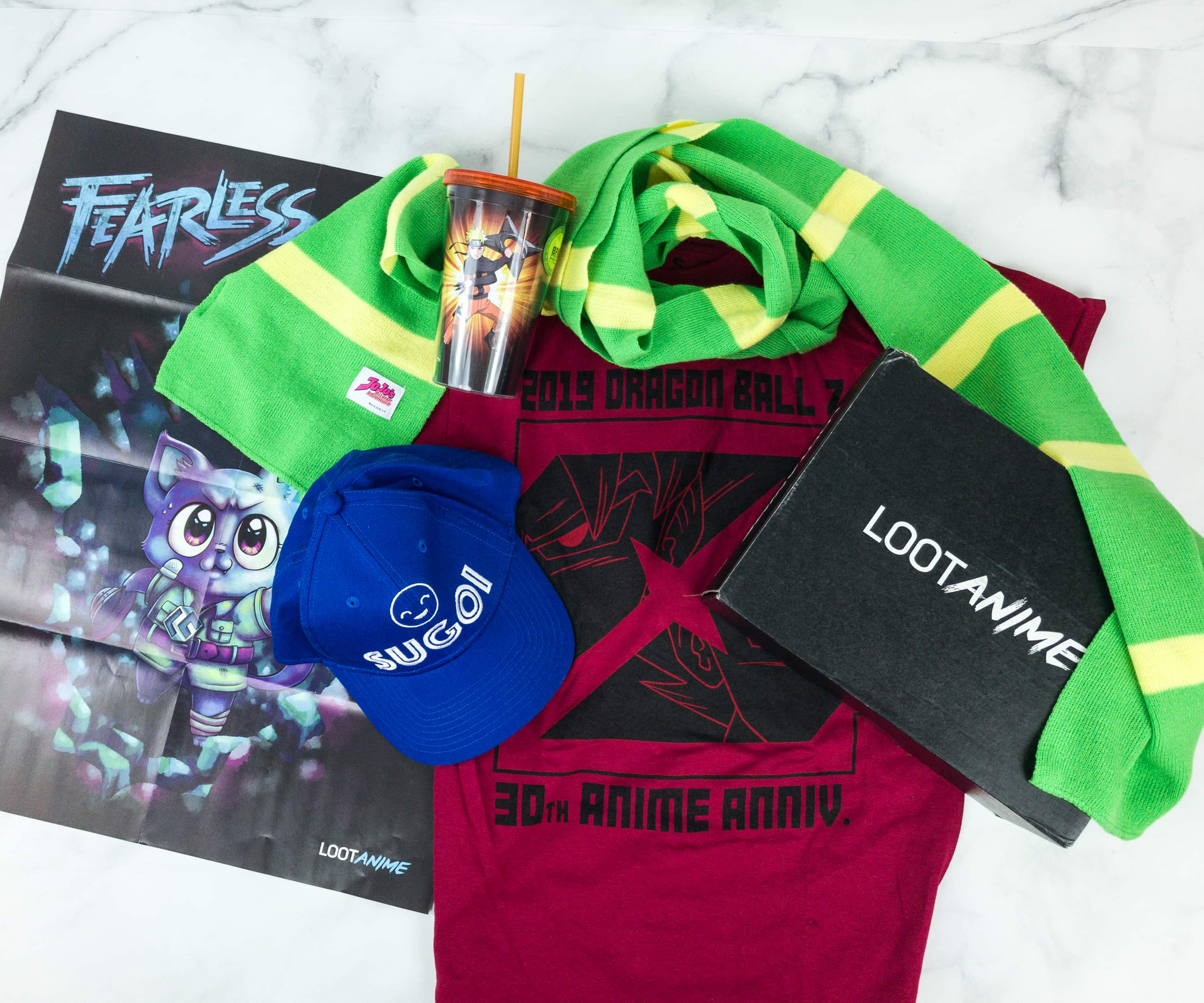 Loot Anime December 2018 Subscription Box Review & Coupons – FEARLESS