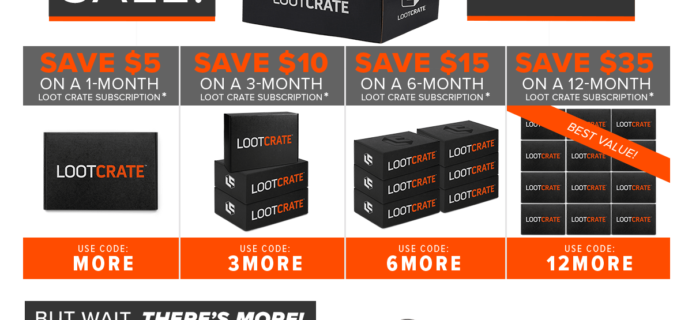 Loot Crate Sale: Get Up to $35 Off!  LAST DAY!
