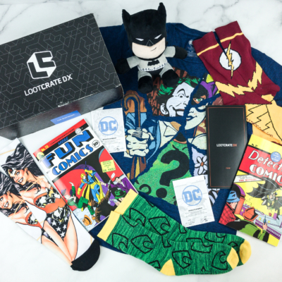 Loot Crate DX December 2018 Subscription Box Review & Coupon