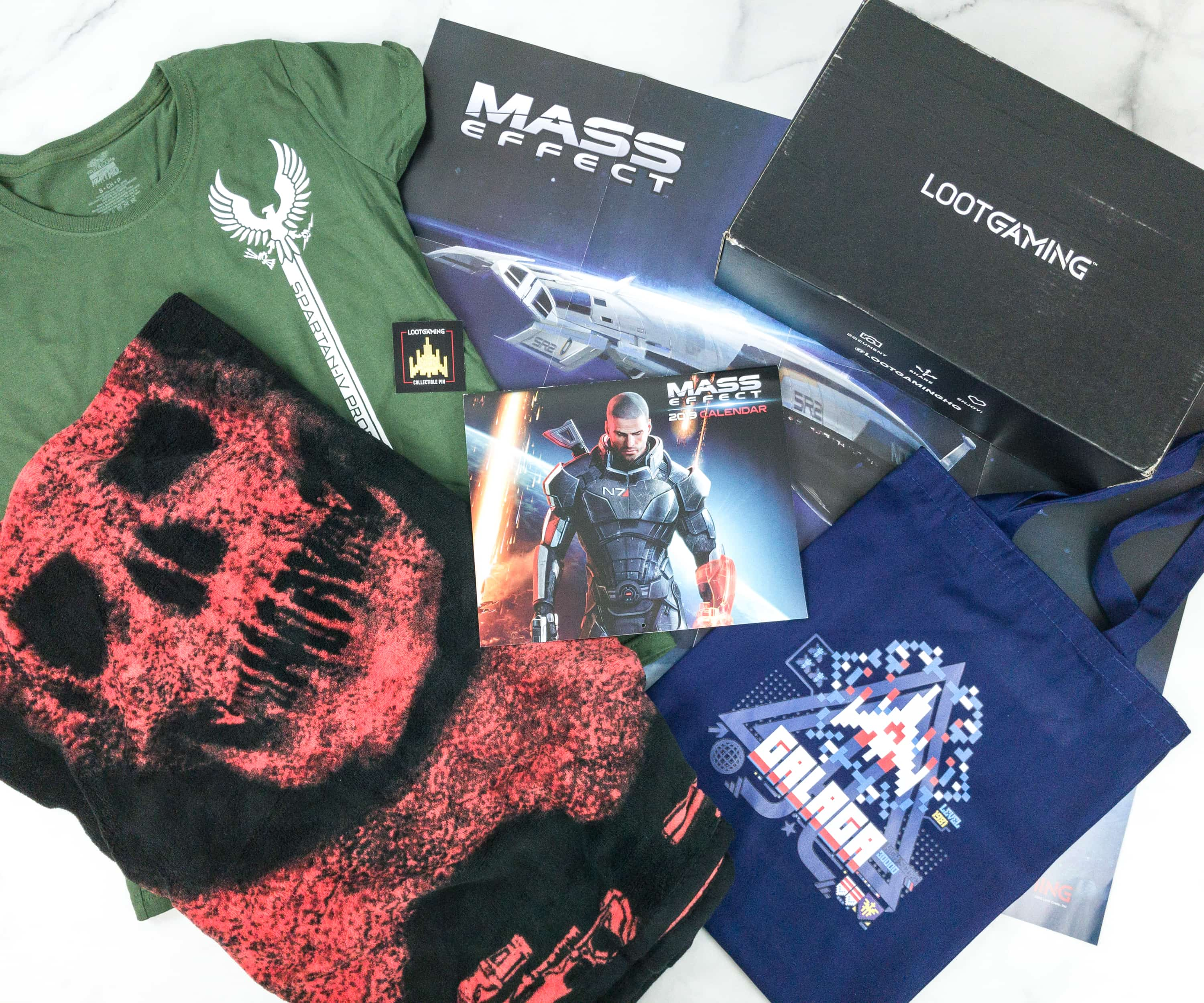 Loot Gaming December 2018 Subscription Box Review & Coupon