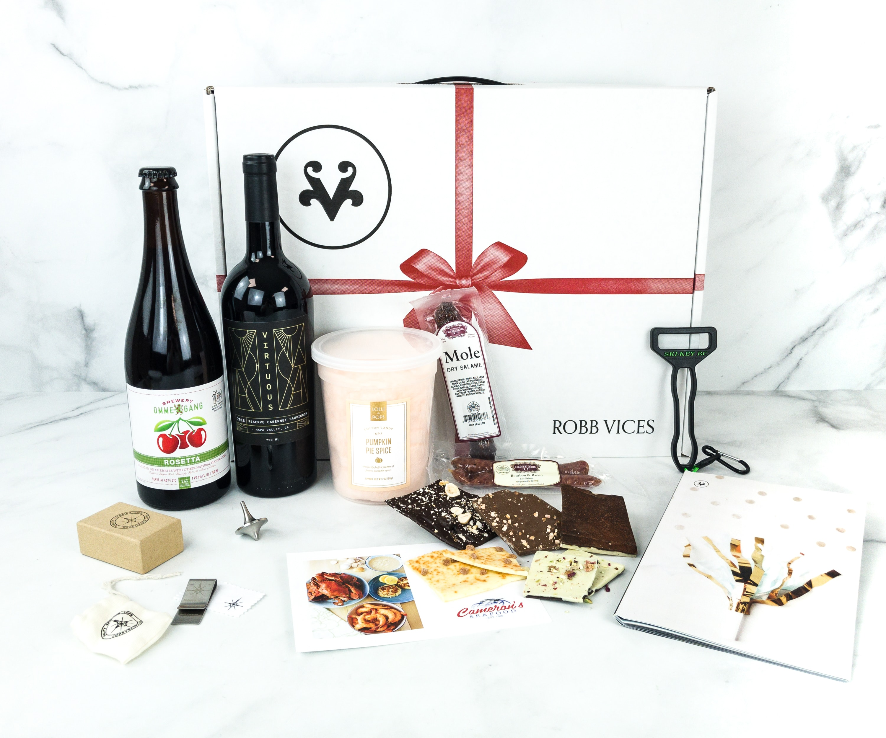 Robb Vices December 2018 Subscription Box Review + Coupon