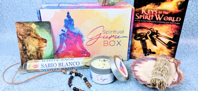 Spiritual Guru December 2018 Subscription Box Review