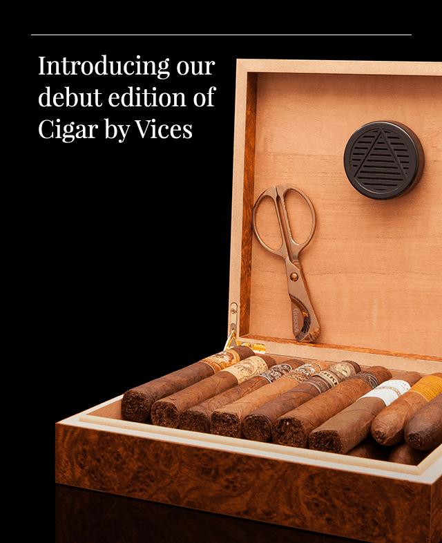 Cigar by Robb Vices December 2018 Full Spoilers!