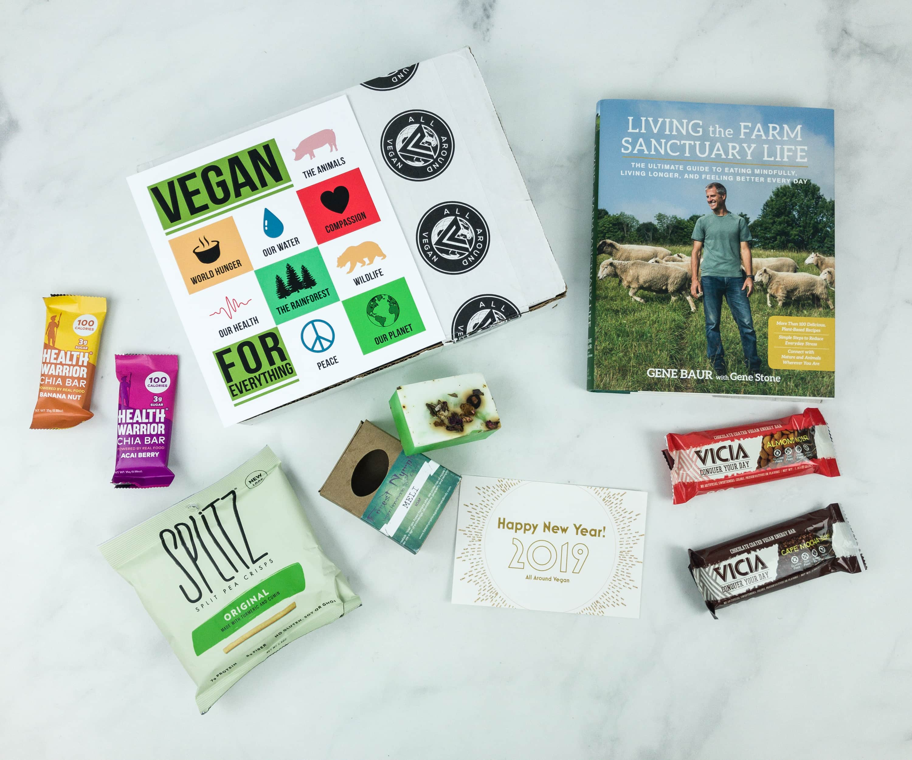 All Around Vegan Box January 2019 Subscription Box Review + Coupon