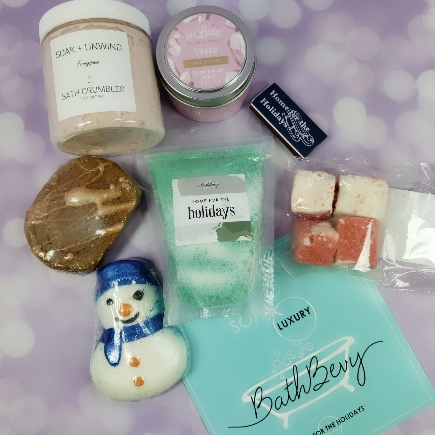 Bath Bevy December 2018 Subscription Box Review + Coupon