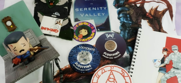 Firefly Cargo Crate September 2018 Review