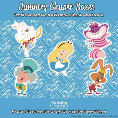 Pin Trading Monthly January 2019 Chase Spoiler!