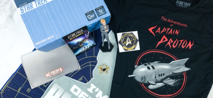 Star Trek: Mission Crate May 2018 Subscription Box Review