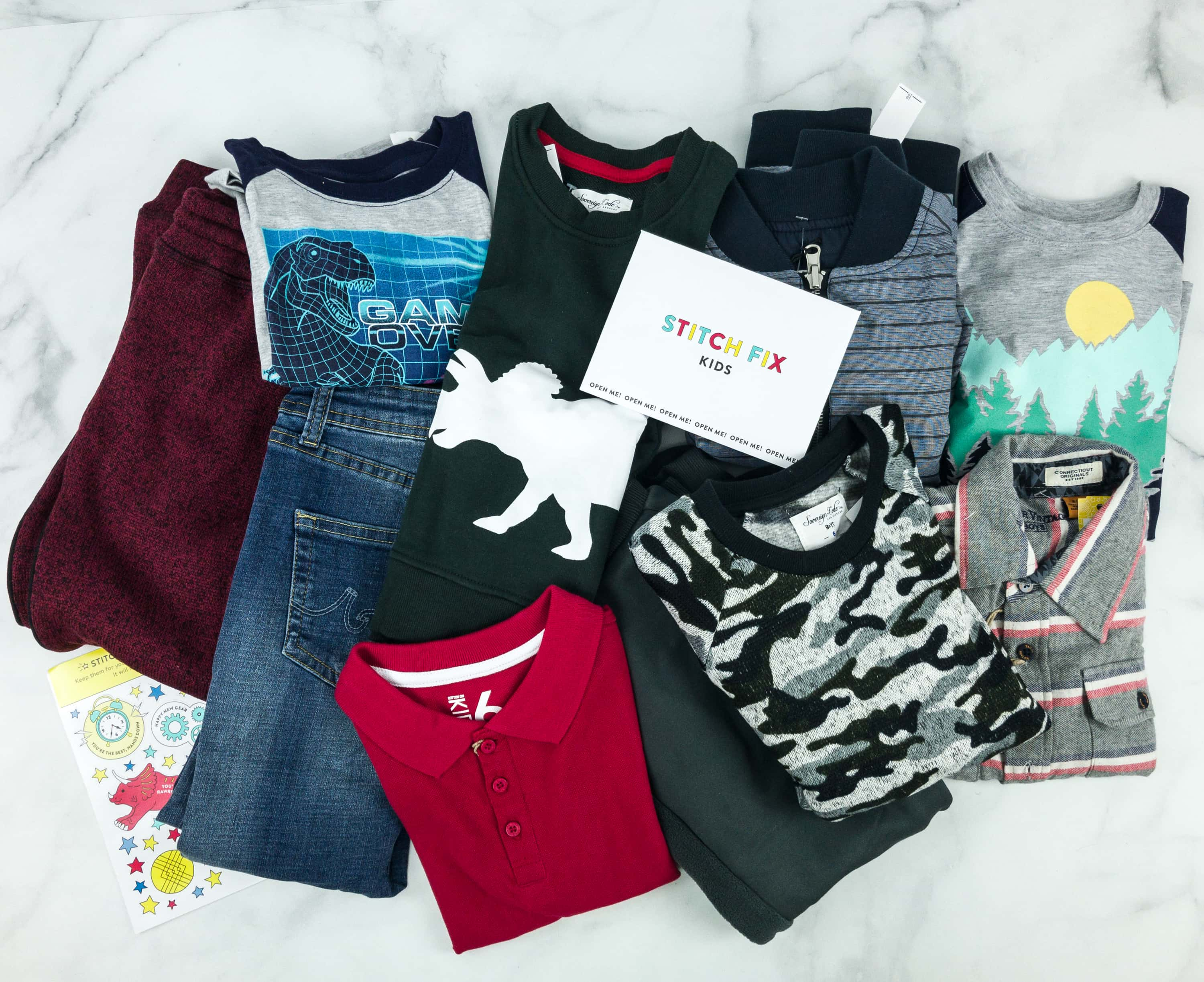 Stitch Fix Kids Review – Little Boys January 2019