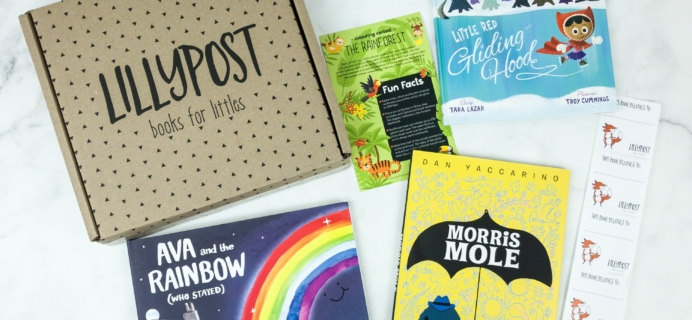 Lillypost January 2019 Board Book Subscription Box Review – PICTURE BOOKS