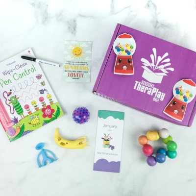Sensory TheraPLAY Box January 2019 Subscription Box Review + Coupon