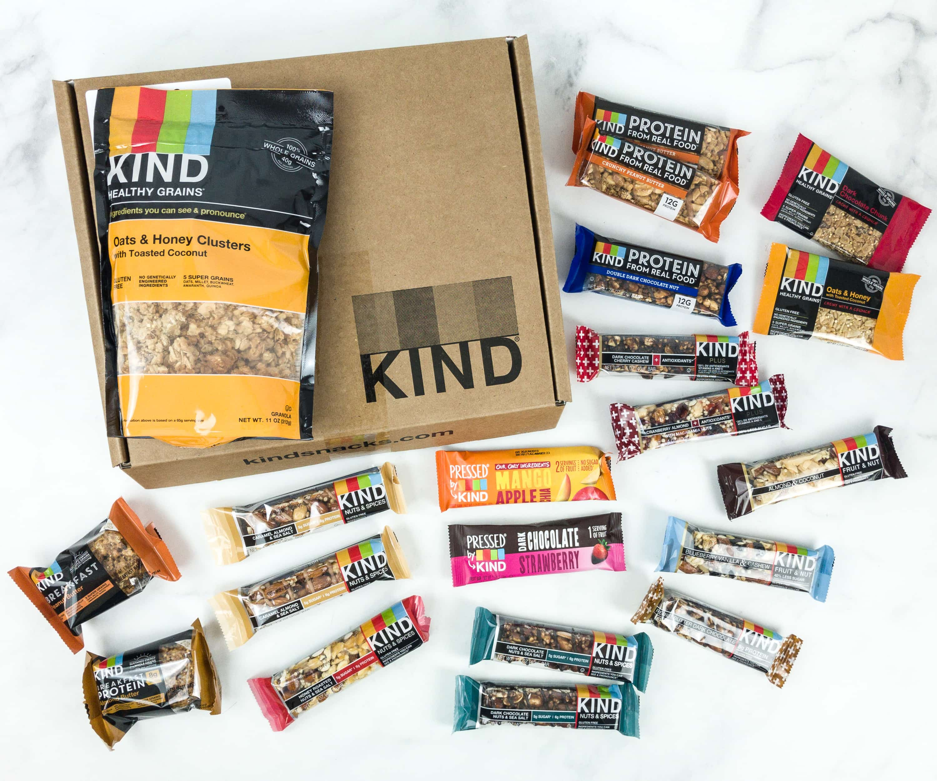 KIND Snack Club Subscription Box Review + $20 Off Coupon – Classic Snack Pack