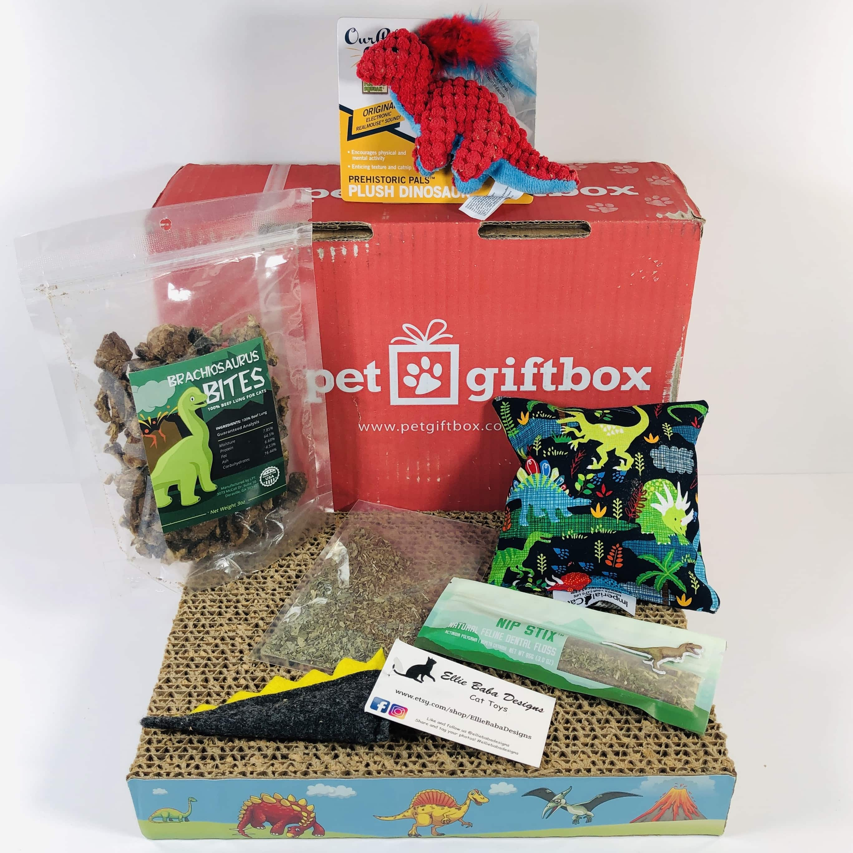PetGiftBox Cat January 2019 Subscription Box Review + 50% Off Coupon