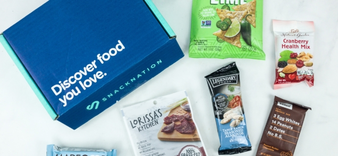 Snack Nation January 2019 Subscription Box Review + Coupon!