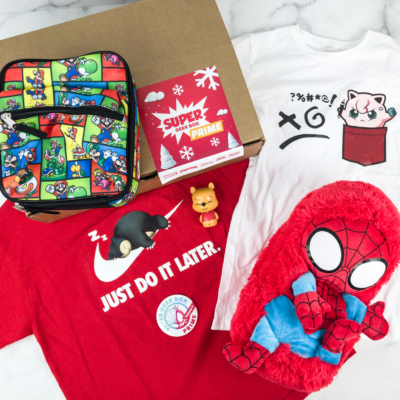 Super Geek Box PRIME Vol 2 December 2018 Subscription Box Review + Coupon