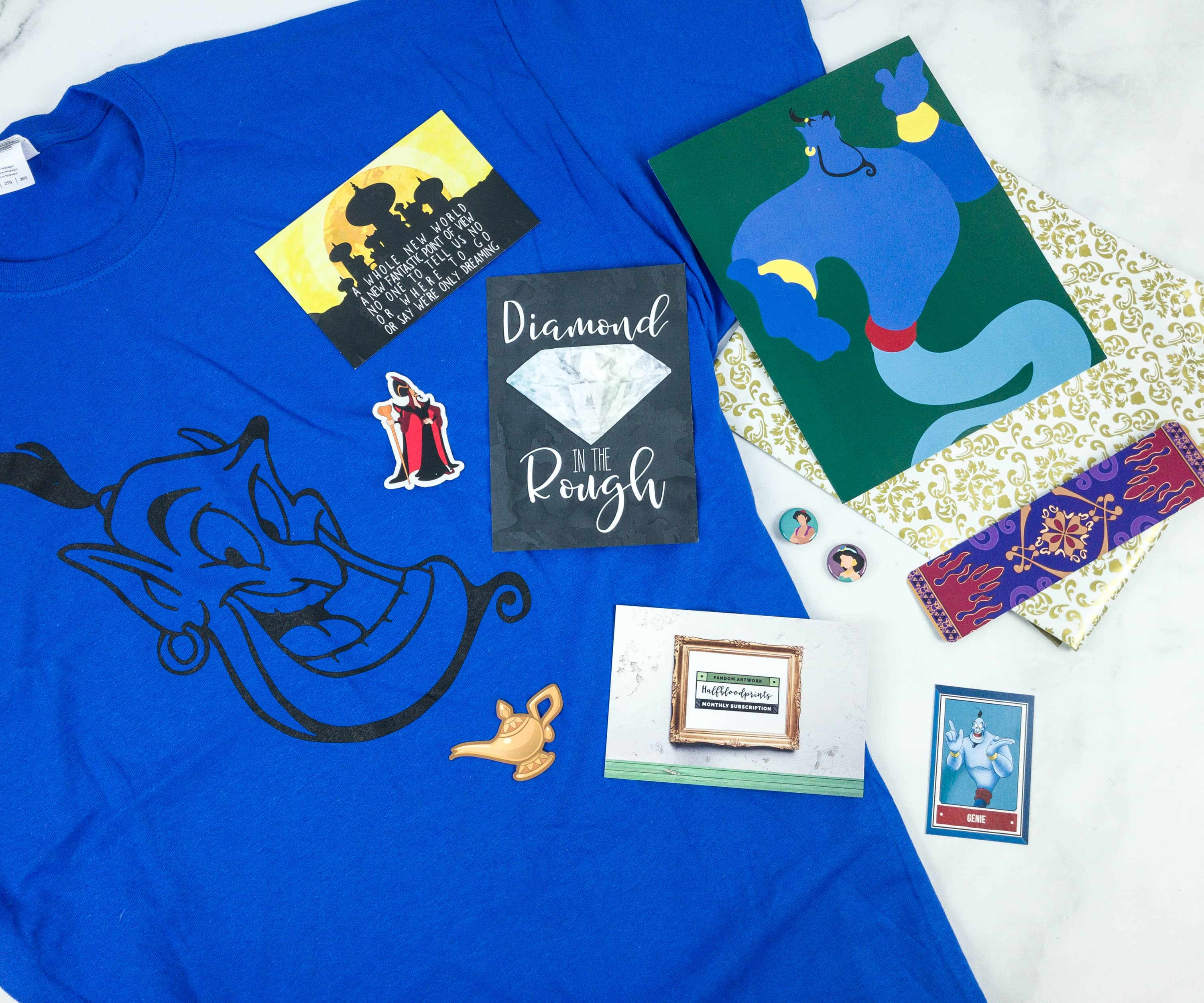 HalfBloodPrints November 2018 Subscription Box Review